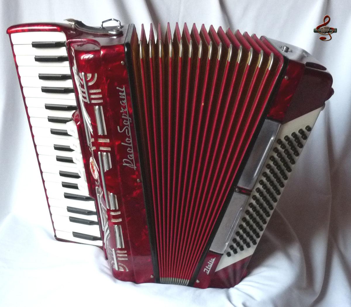 Paolo Soprani Occasion Basses Standard Clavier Piano 80 Basses 3 Voix